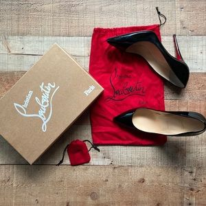 Christian Louboutin Pigalle Follies Patent 100